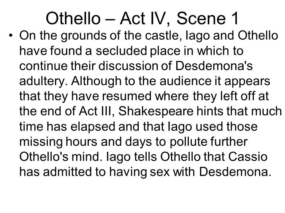Othello – Act IV, Scene 1