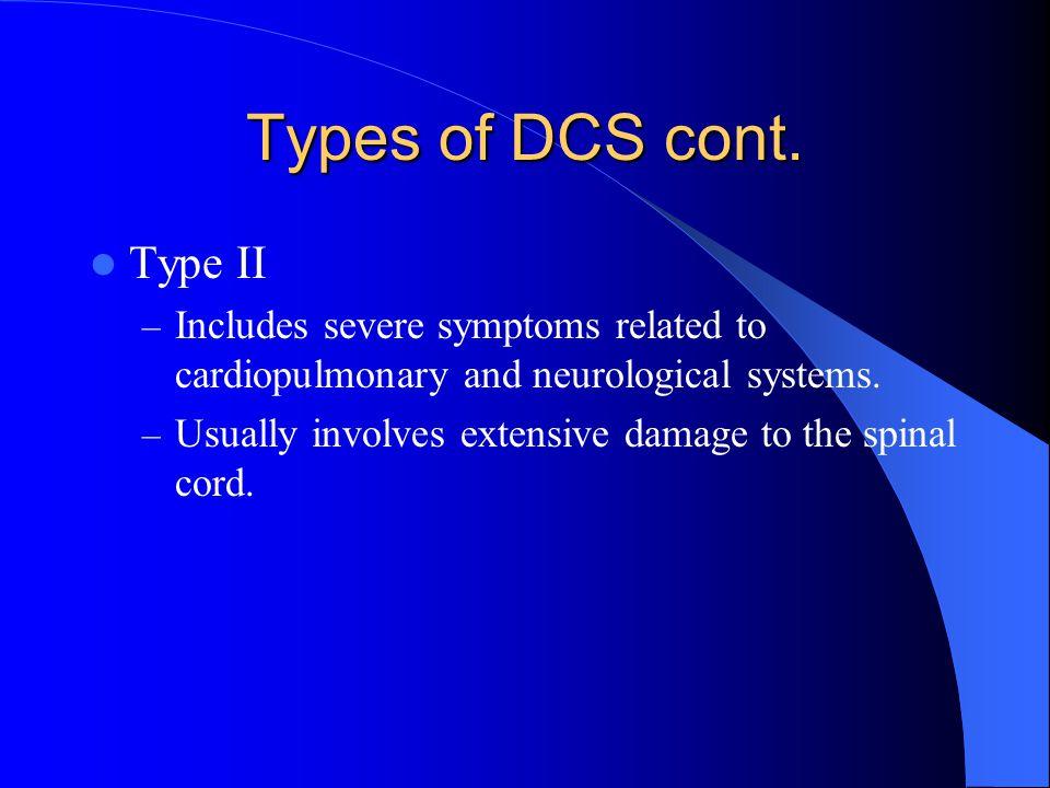 Types of DCS cont. Type II