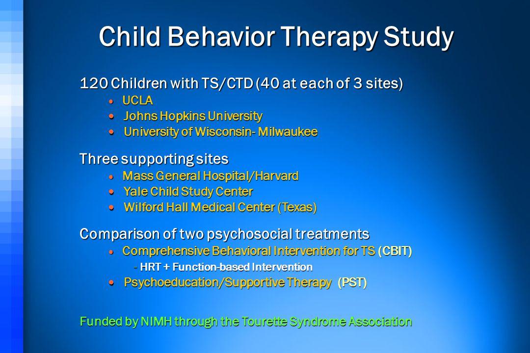 Child Behavior Therapy Study
