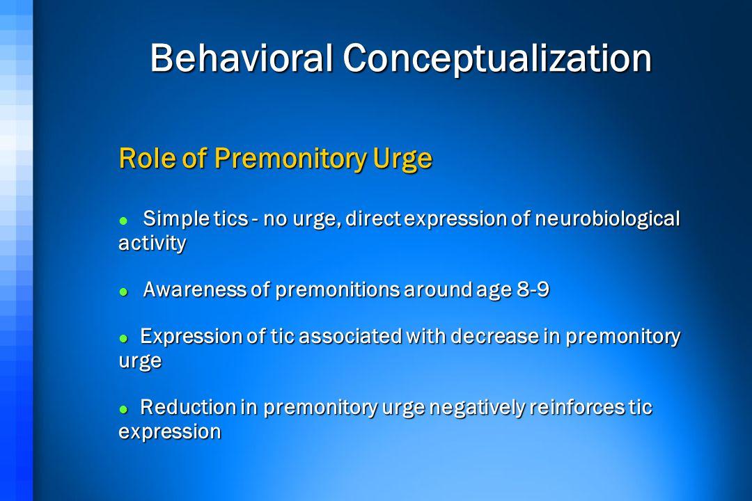 Behavioral Conceptualization