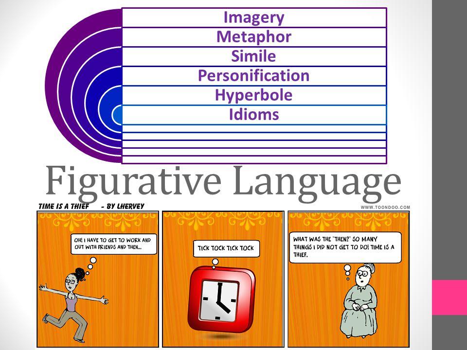 Figurative Language Imagery Metaphor Simile Personification Hyperbole