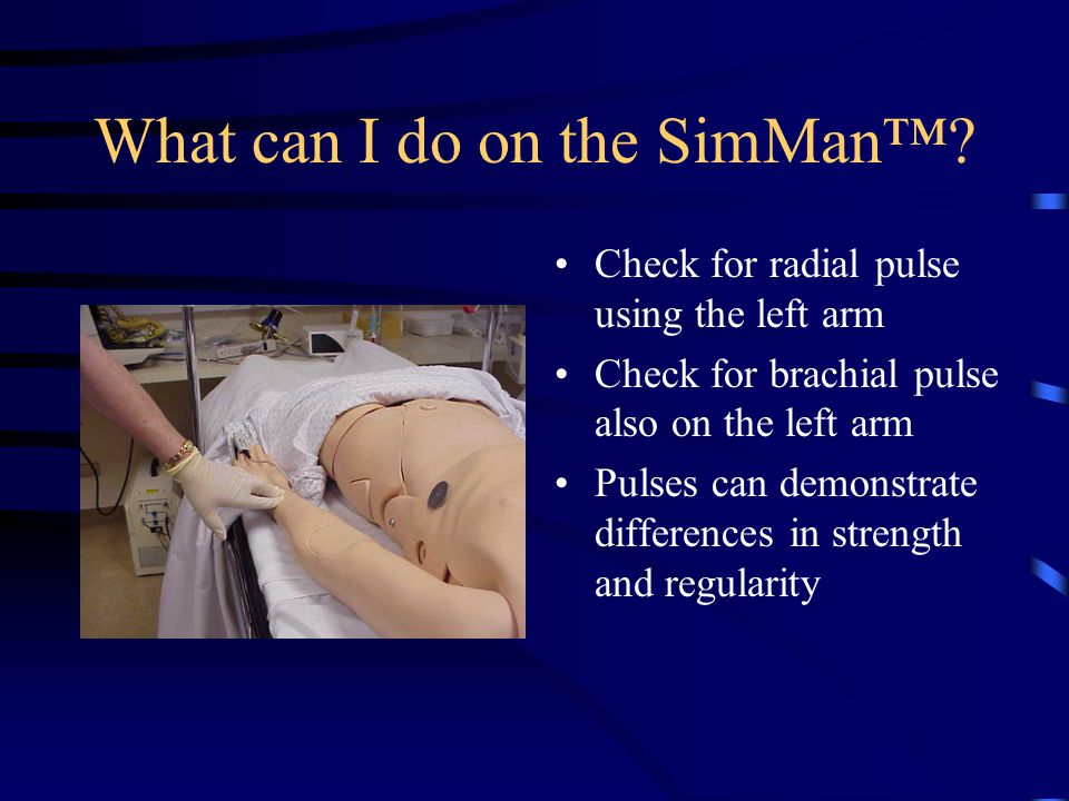 What can I do on the SimMan™