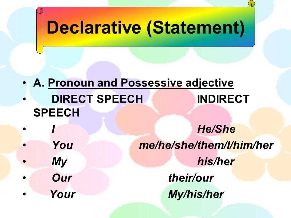 Declarative (Statement)