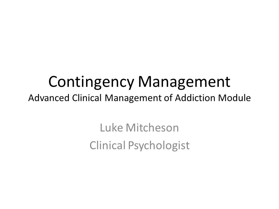 Luke Mitcheson Clinical Psychologist