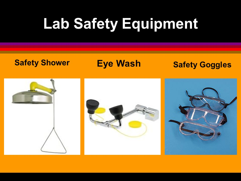 Lab Safety Equipment Safety Shower Eye Wash Safety Goggles