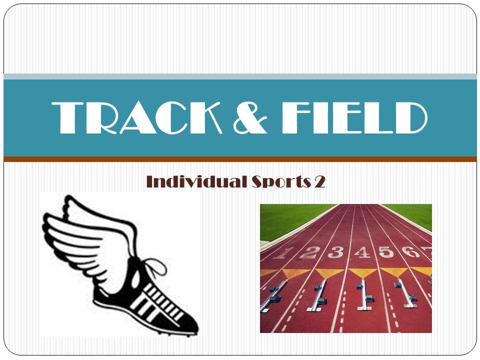 TRACK & FIELD Individual Sports 2