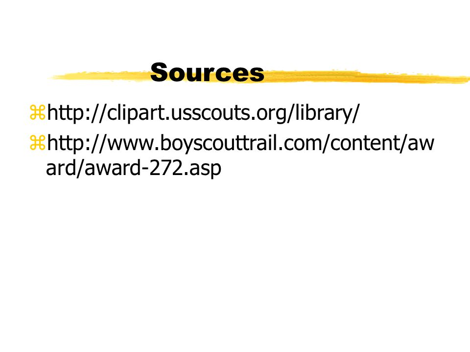 Sources http://clipart.usscouts.org/library/
