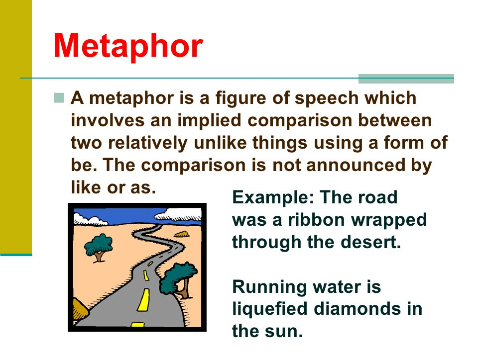 Implied Metaphor Examples Olivero