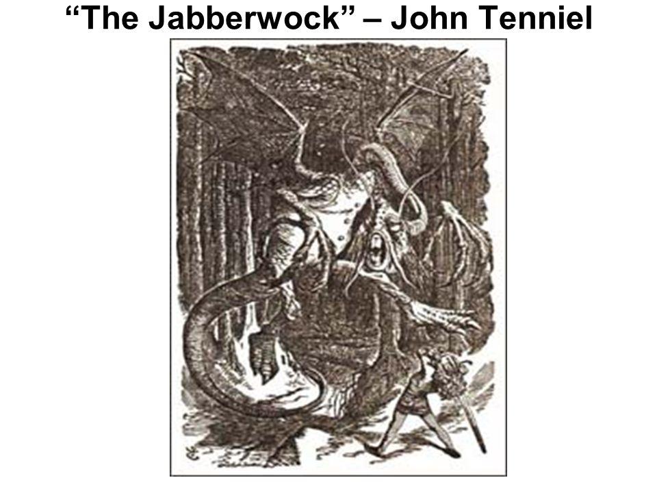 The Jabberwock – John Tenniel
