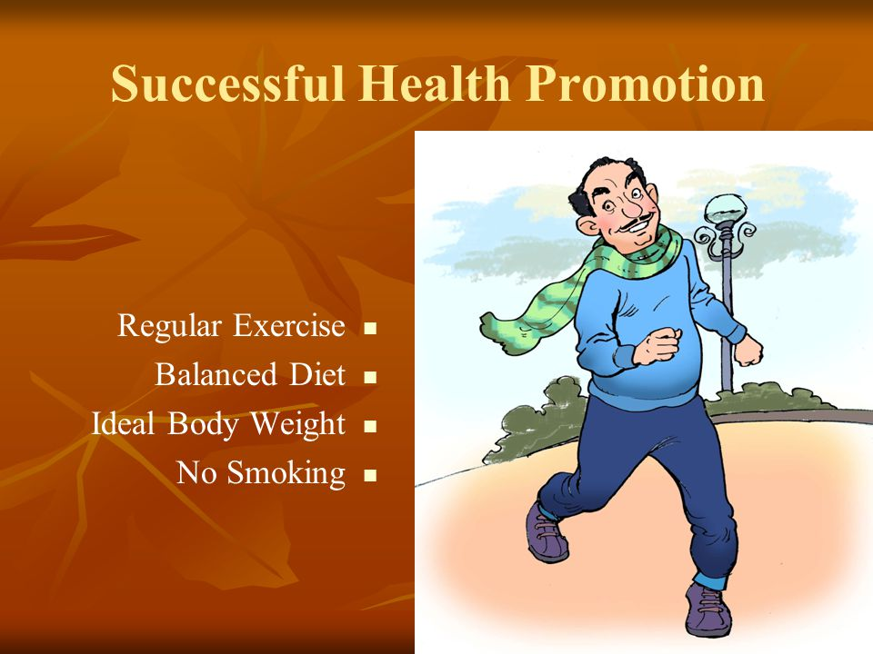 Successful Health Promotion