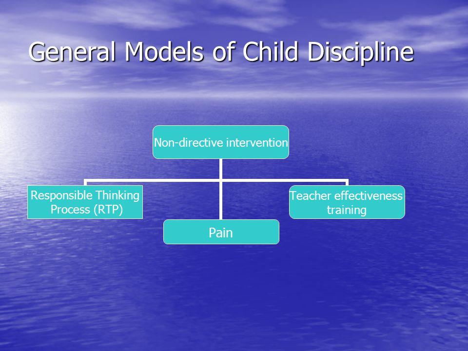 General Models of Child Discipline