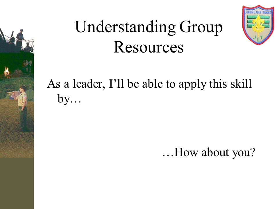 Understanding Group Resources