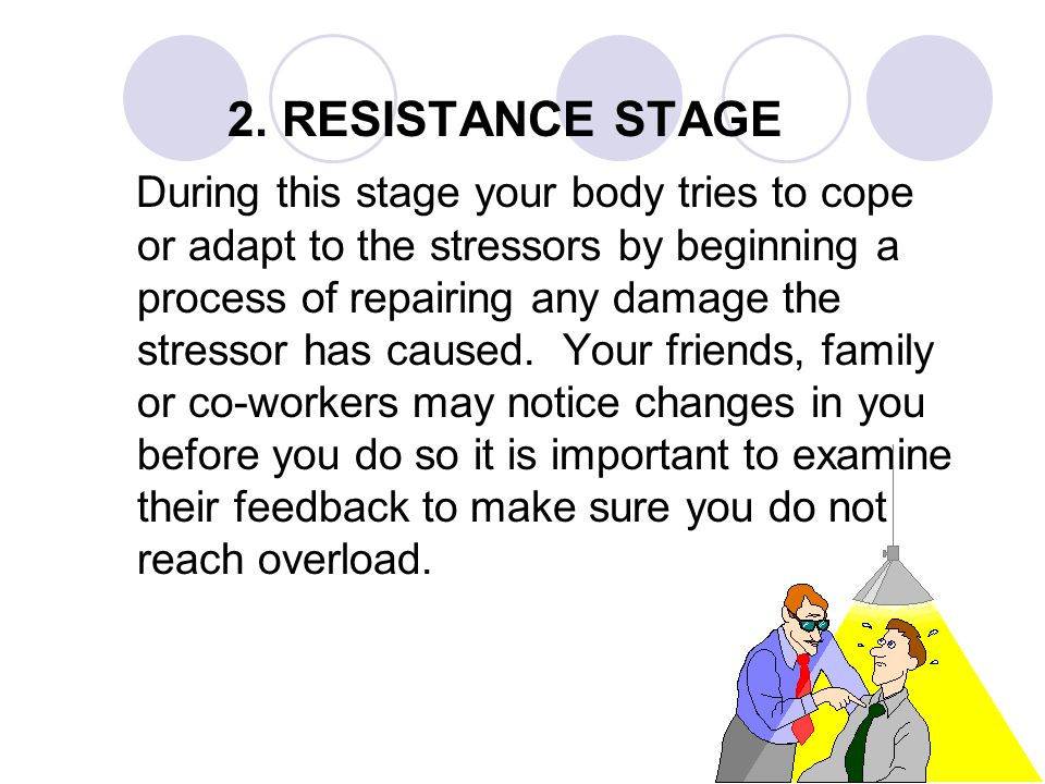 2. RESISTANCE STAGE