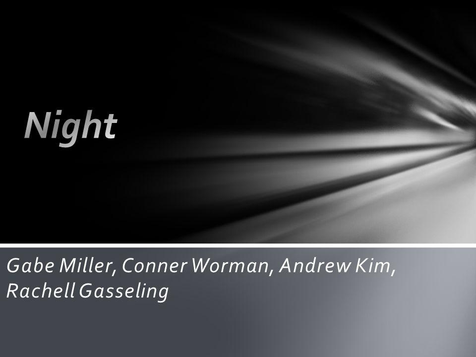 Gabe Miller, Conner Worman, Andrew Kim, Rachell Gasseling