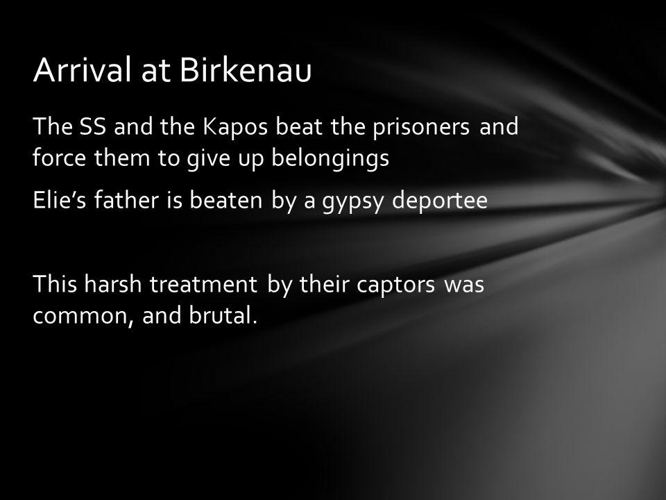 Arrival at Birkenau