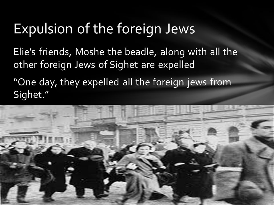 Expulsion of the foreign Jews