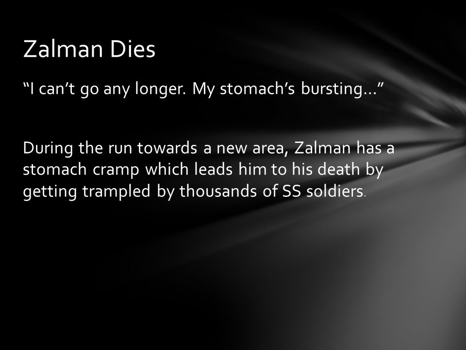 Zalman Dies