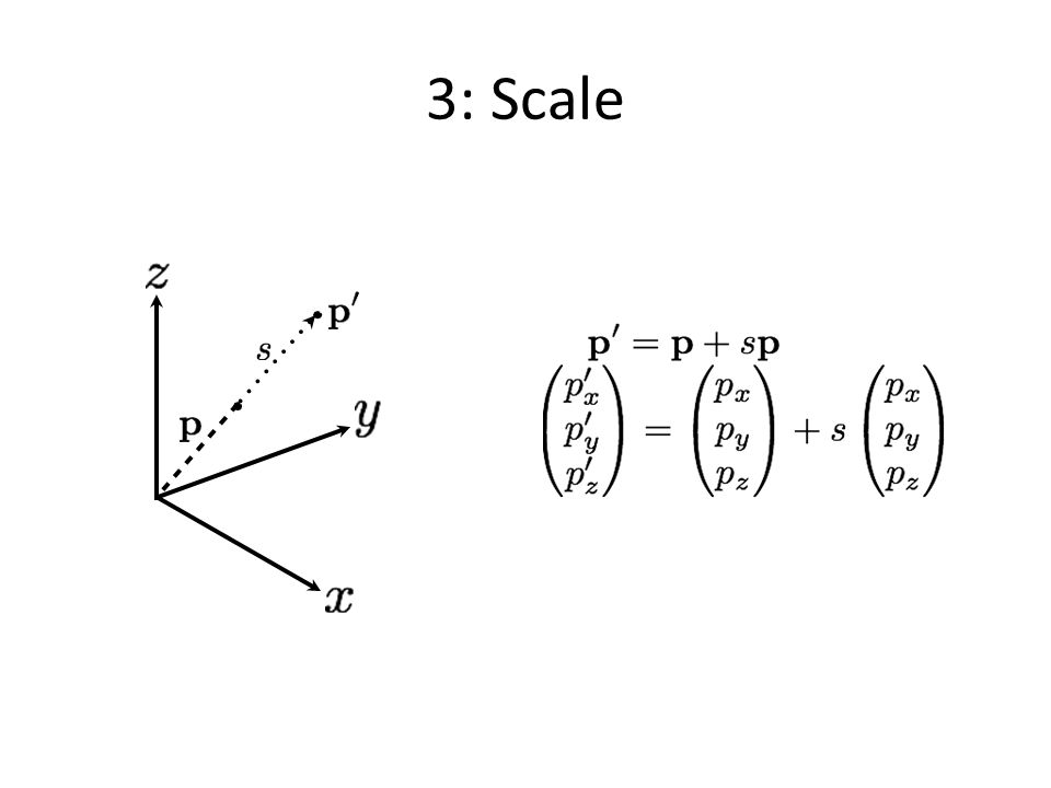 3: Scale