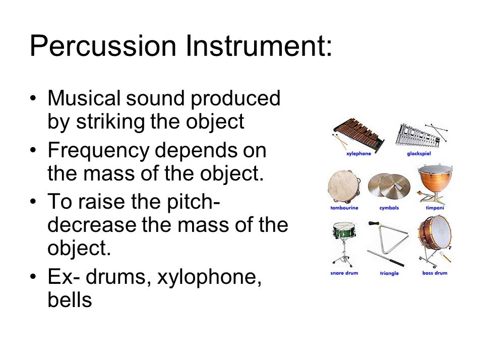 Percussion Instrument: