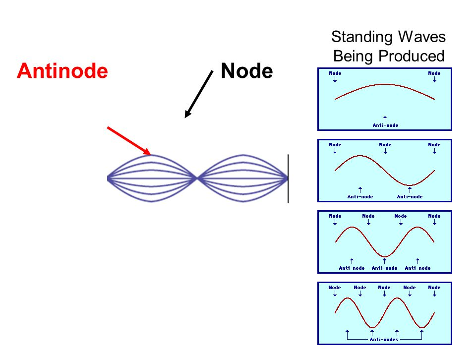 Standing Waves Being Produced