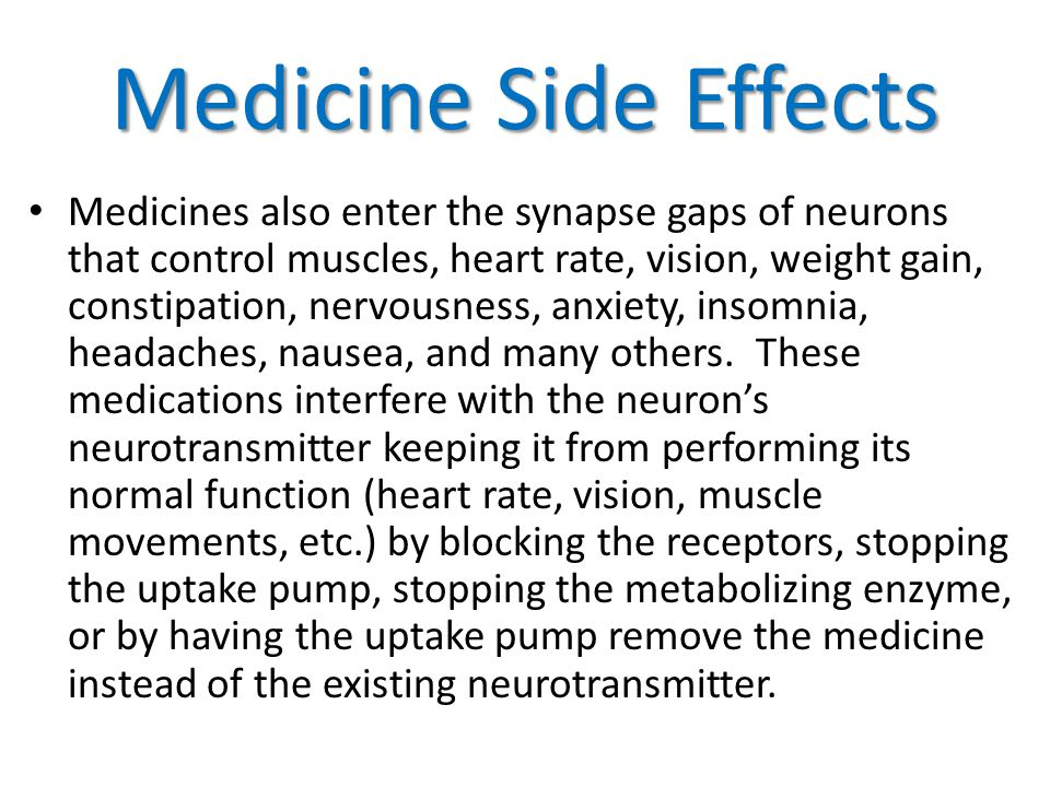 Medicine Side Effects