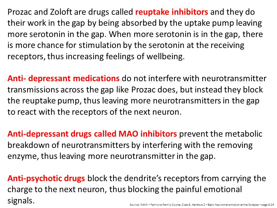 Anti-depressant drugs called MAO inhibitors prevent the metabolic