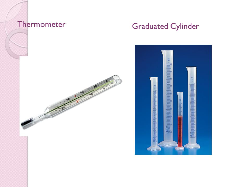 Thermometer Graduated Cylinder