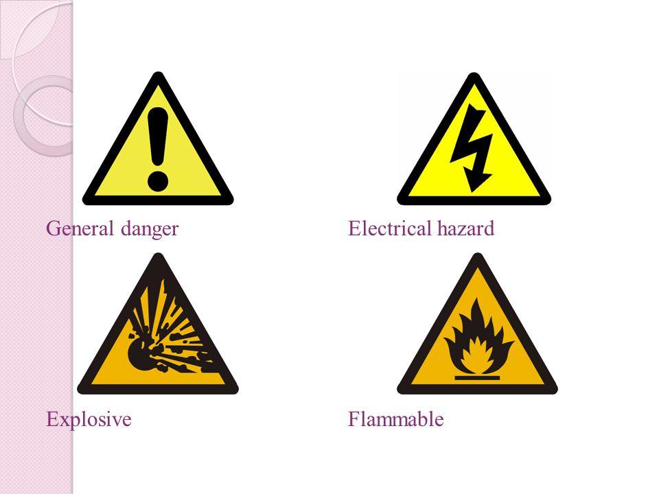 General danger Explosive