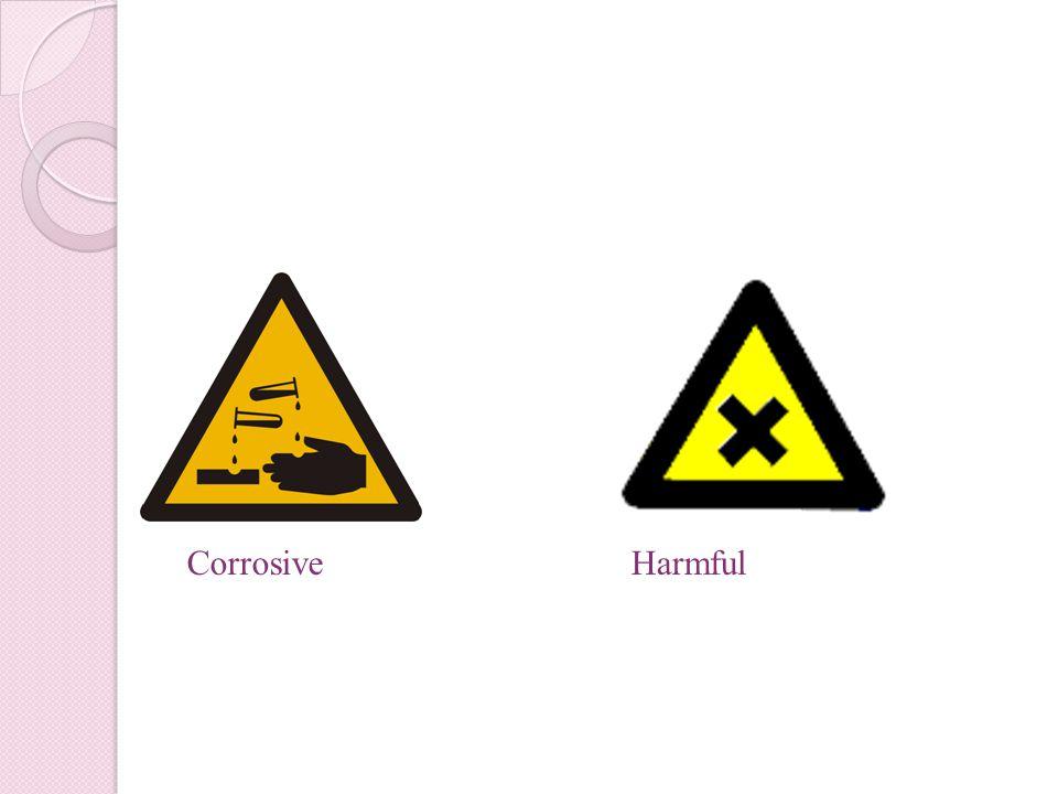 Corrosive Harmful