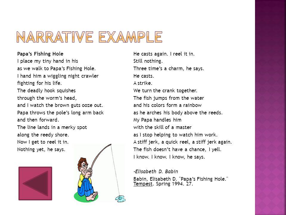 Narrative Example