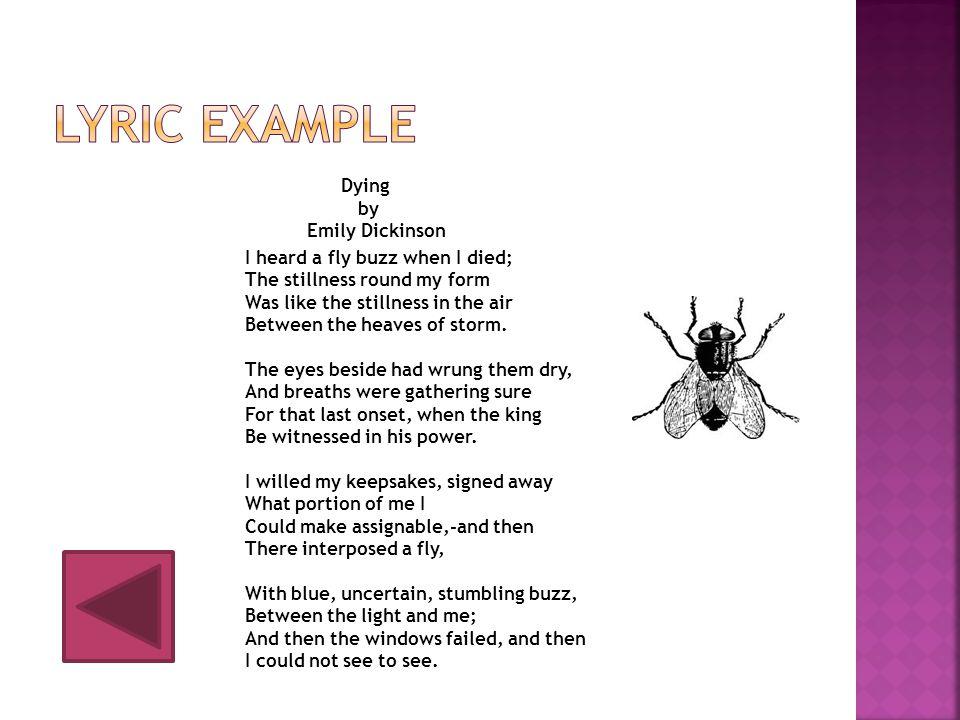 Lyric example