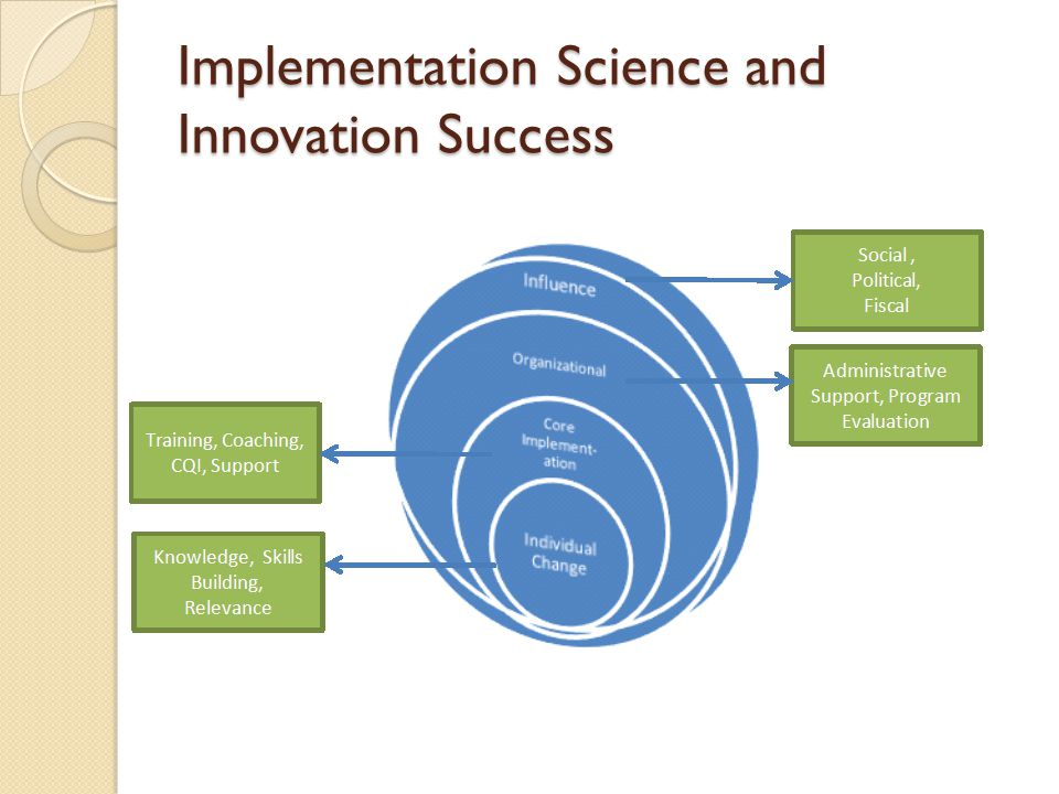 Implementation Science and Innovation Success