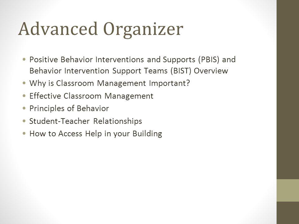 BIST Main Components Behavioral Intervention Support Team