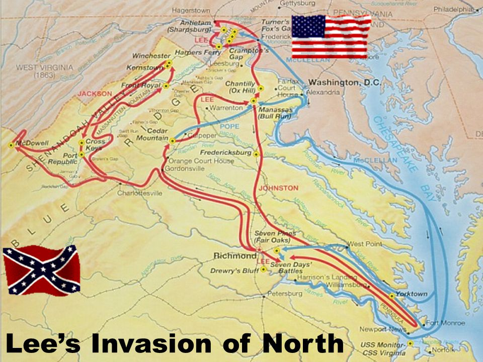Lee's Invasion of North