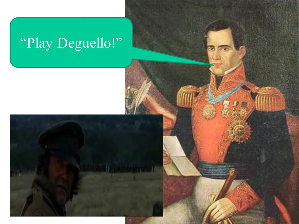 Play Deguello!