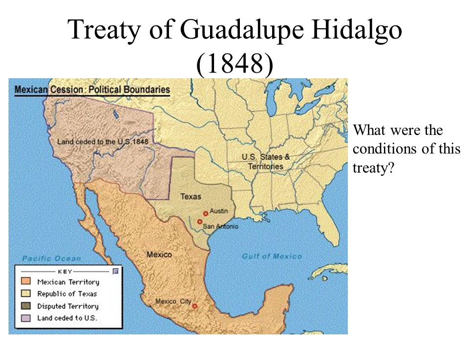 Treaty of Guadalupe Hidalgo (1848)