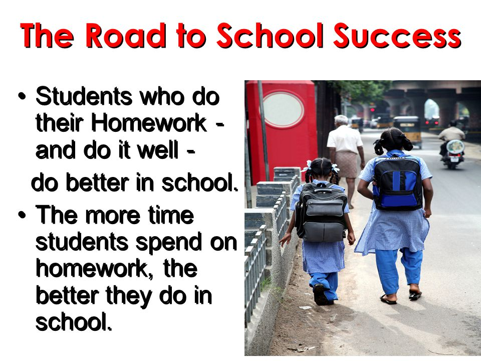 The Road to School Success