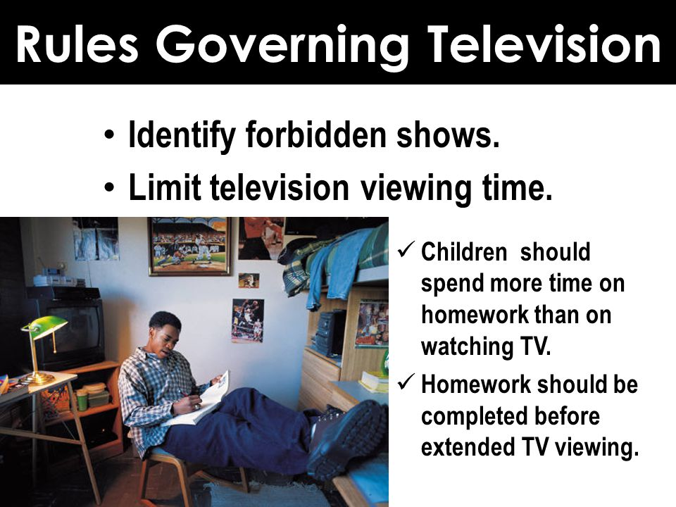 Rules Governing Television