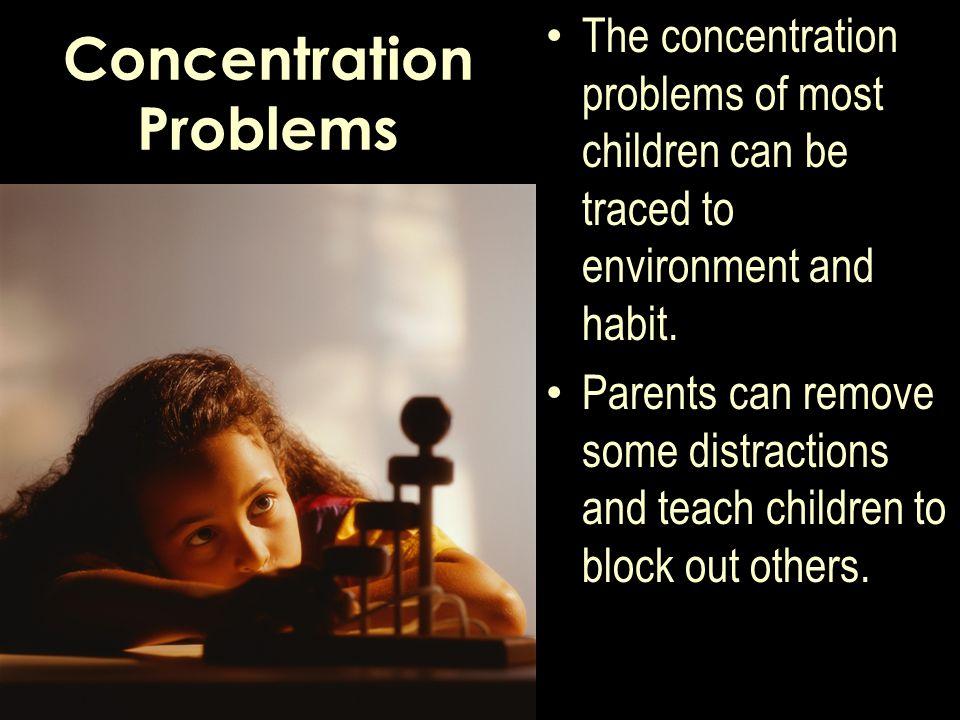 Concentration Problems