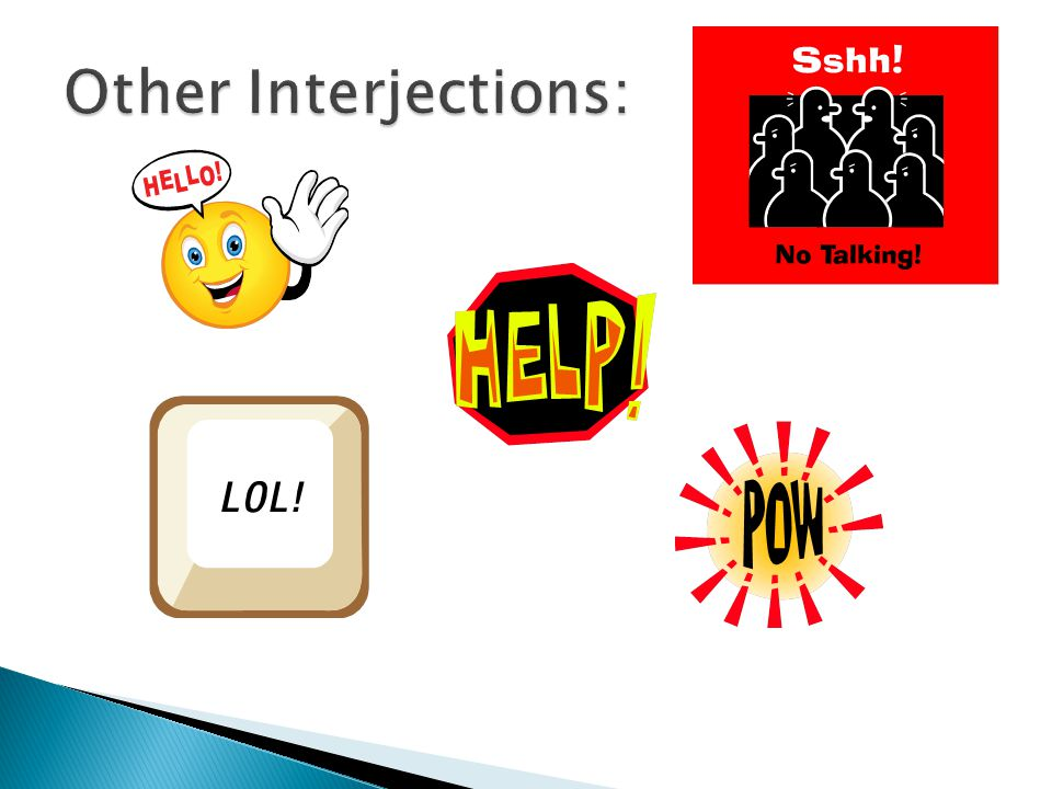 Other Interjections:
