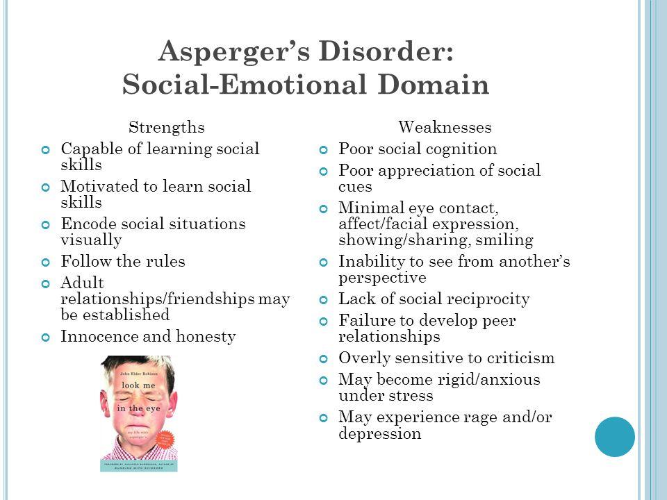 Asperger's Disorder: Social-Emotional Domain