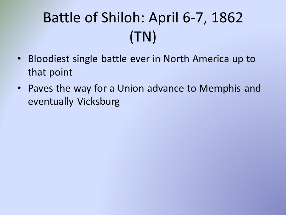 battle of shiloh the bloodiest and deadliest battle of the civil war Gettysburg was the bloodiest battle of the civil war, with more than 51,000 casualties, including 7,863 dead battle deaths in the civil war totaled nearly 215,000 below is a list of the deadliest battles in the war battle dates number of fatalities battle of gettysburg june 3, – july 24, 1863.