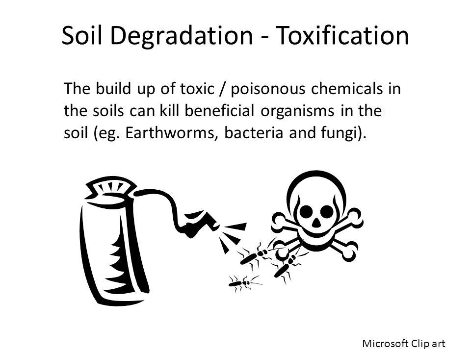 Soil Degradation - Toxification