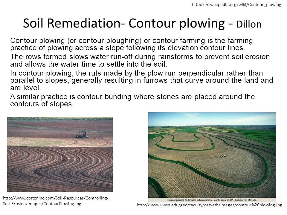 Soil Remediation- Contour plowing - Dillon
