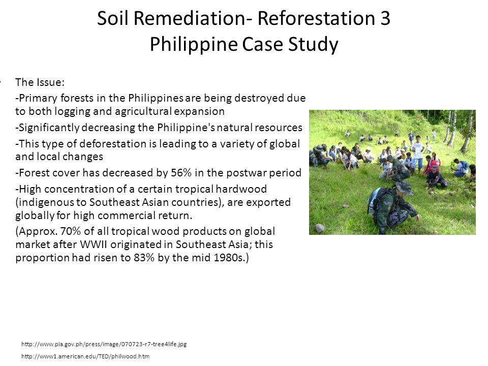 Soil Remediation- Reforestation 3 Philippine Case Study