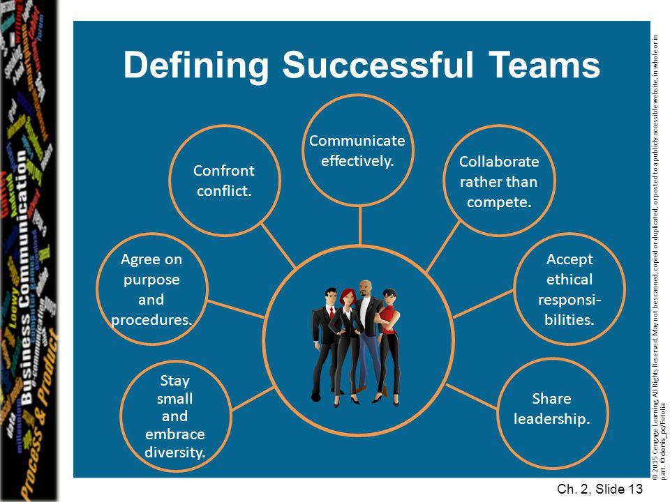 Defining Successful Teams
