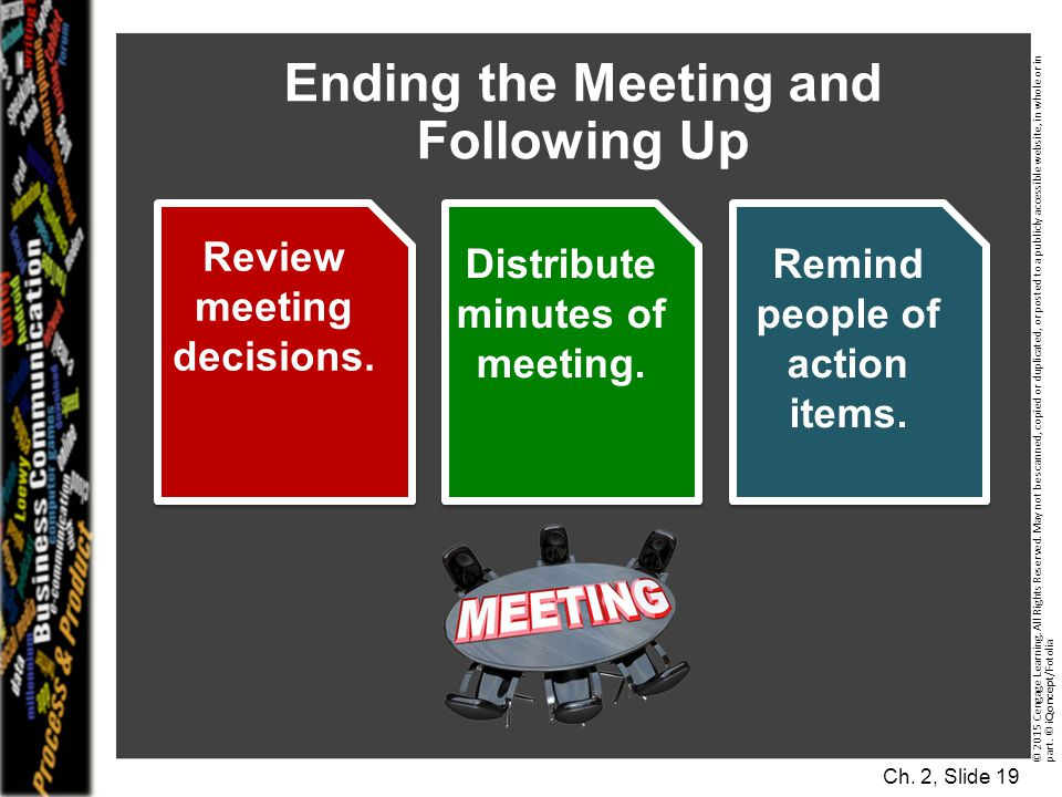 Ending the Meeting and Following Up