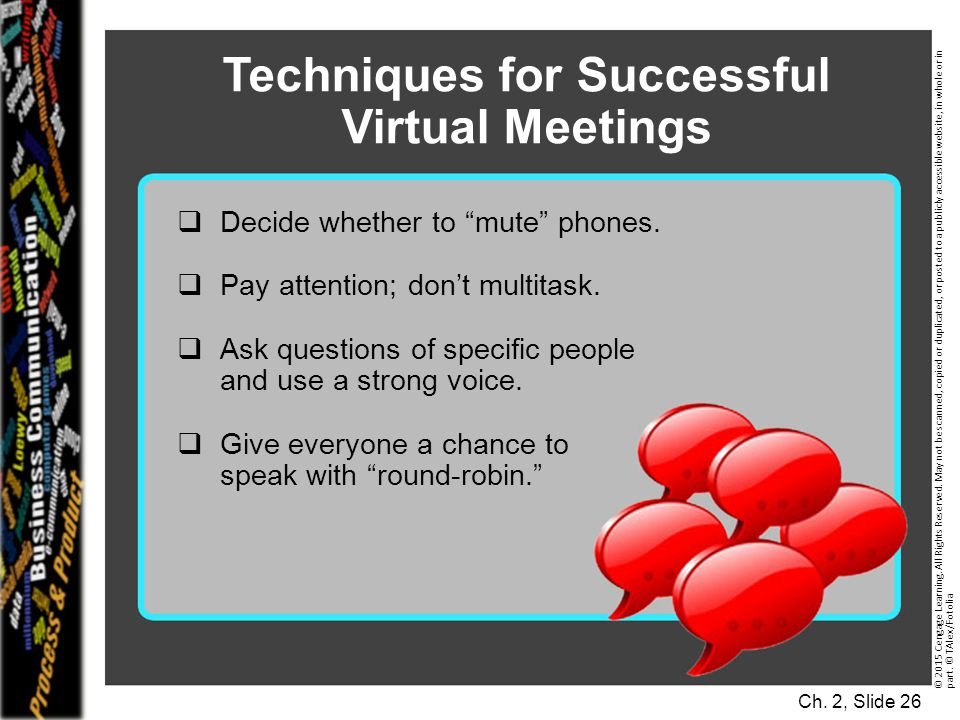 Techniques for Successful Virtual Meetings
