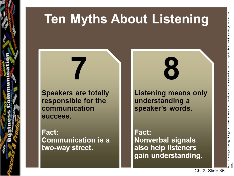 Ten Myths About Listening