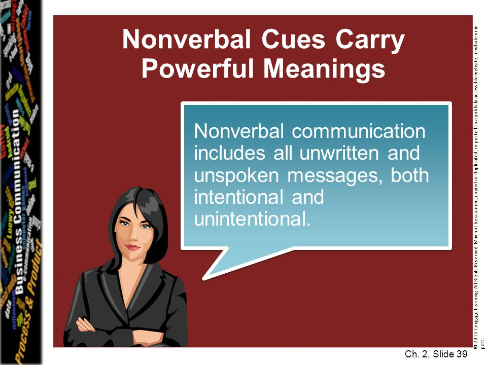 Nonverbal Cues Carry Powerful Meanings
